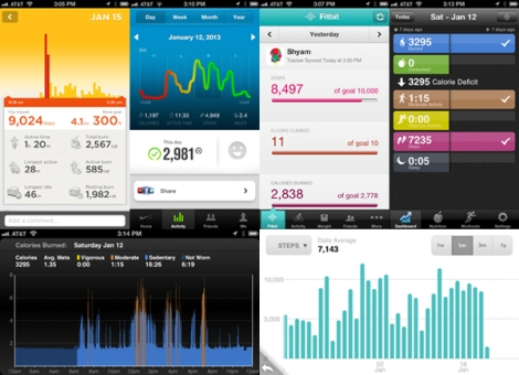 how to change hourly step count on fitbit