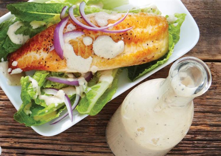 Skinny Caesar Salad Dressing | fitnationxo